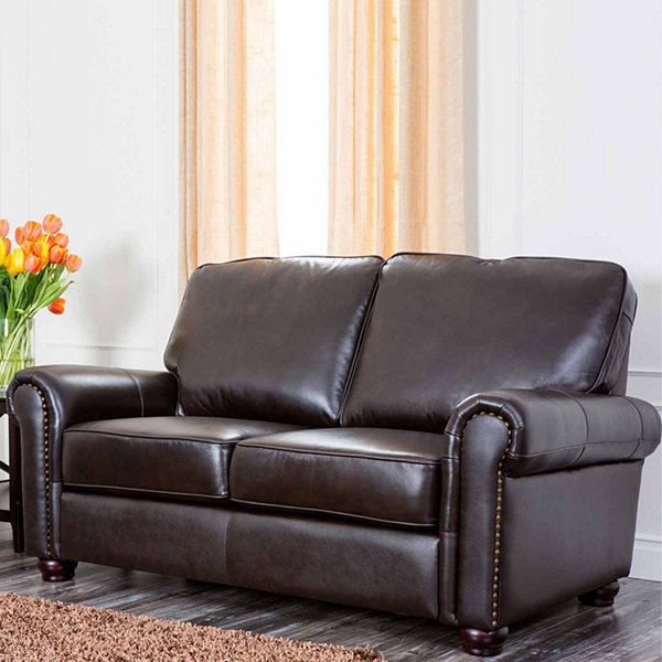 Olivia Roll-Arm Loveseat