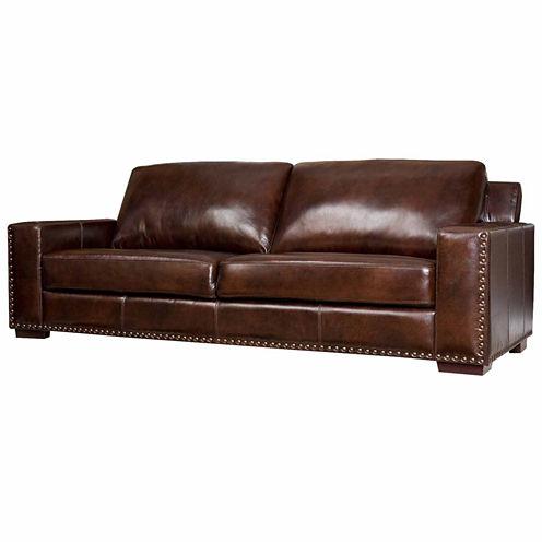 Ellie Leather Sofa