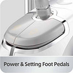 Salav GS45-DJ Professional Dual Bar Garment Steamer with Foot Pedal Controls