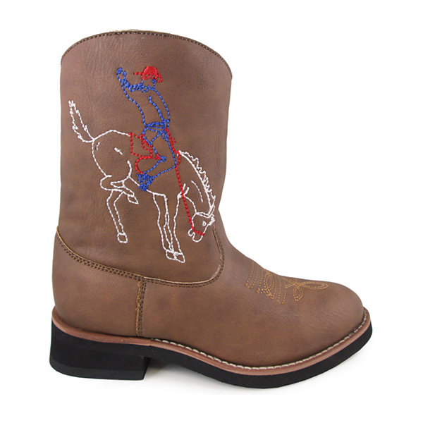 Smoky Mountain Kid's Night Horse  Round Toe Boot