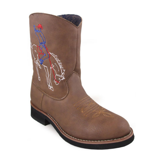 Smoky Mountain Kid's Night Horse  Round Toe Boot Toddler