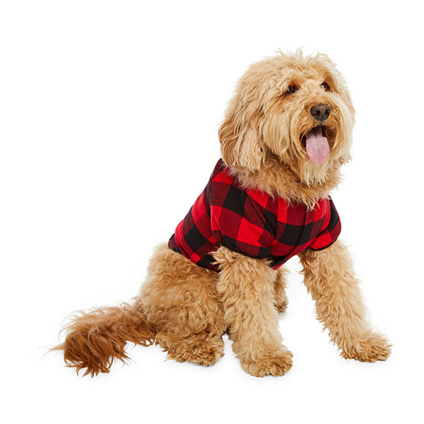 North Pole Trading Co. Buffalo Plaid Family Pet Pajama