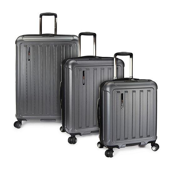 Travelers Choice Art Of Travel 3-pc. Hardside Luggage Set