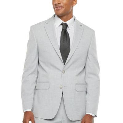 Van Heusen Air Light Grey Mens Stretch Slim Fit Suit Jacket
