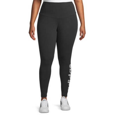 adidas Womens Mid Rise Legging - Plus