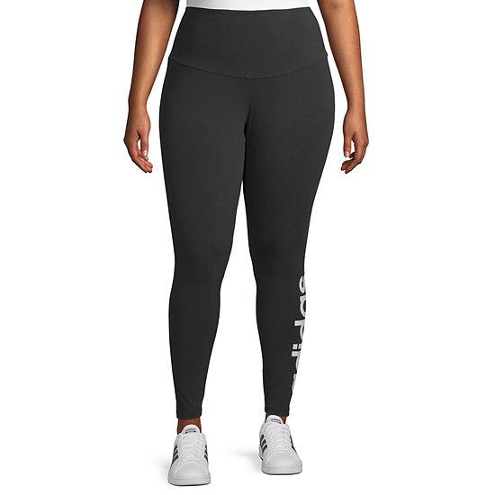 adidas Womens Mid Rise Legging - Plus