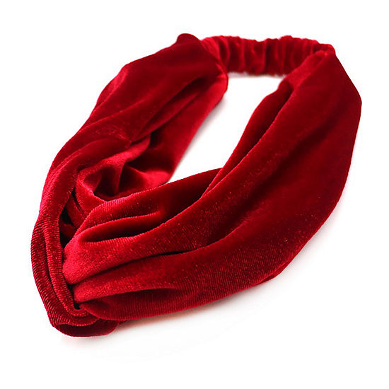 Mixit Red Velvet Hair Wrap