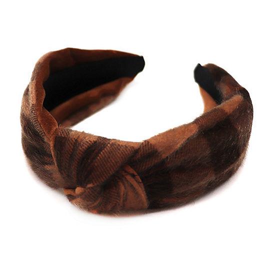 Mixit Plaid Headband