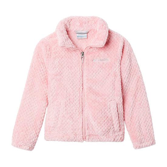 Columbia Sportswear Co. Fireside Little & Big Girls Fleece Lightweight Jacket