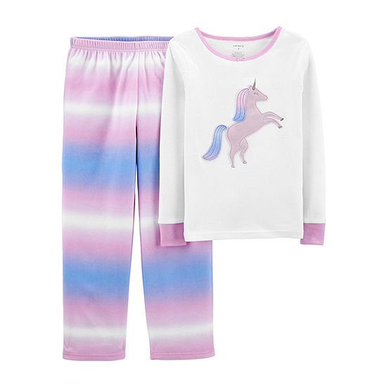 Carter's Little & Big Girls 2-pc. Pajama Set