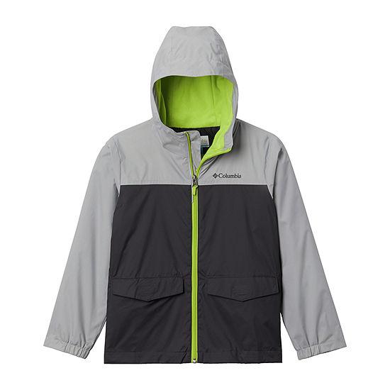 Columbia Sportswear Co. Rainzilla Little & Big Boys Lightweight Raincoat