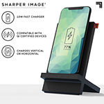 Sharper Image Wireless Qi Charging Dock