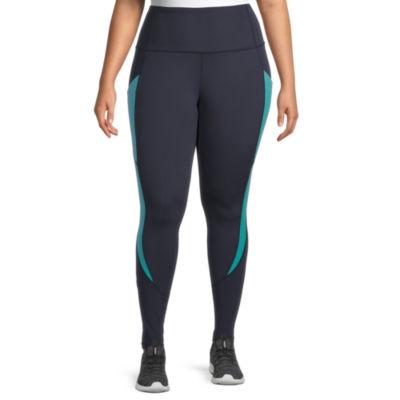 Xersion Womens High Rise Full Length Leggings Plus