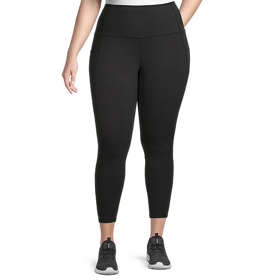Xersion Womens Mid Rise 7/8 Ankle Plus Leggings
