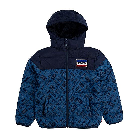 Levi's Big Boys Water Resistant Heavyweight Puffer Jacket