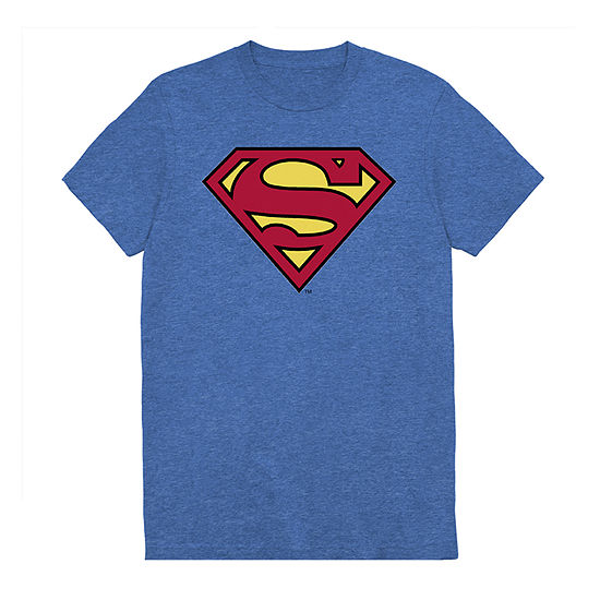 Big and Tall Mens Crew Neck Short Sleeve Superman Graphic T-Shirt
