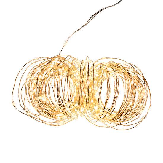 Kurt Adler 300-Light Warm  Led Rice Constant String Lights