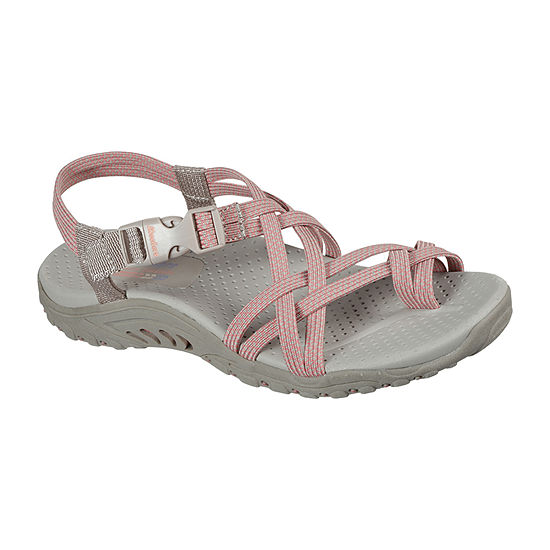 Skechers Womens Reggae - Irie Mon Strap Sandals