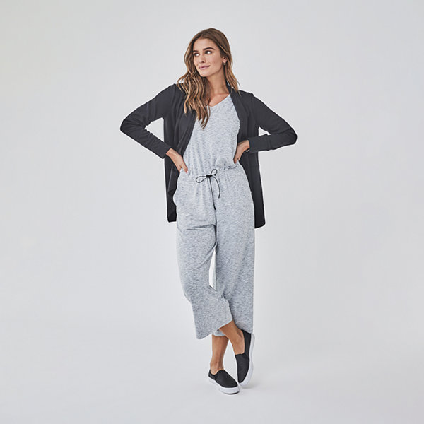 Stylus Cropped Sleeveless Jumpsuit