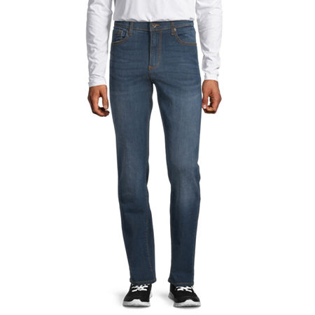 Lazer Garment Company Mens Stretch Slim Fit Jean, 36 34, Blue