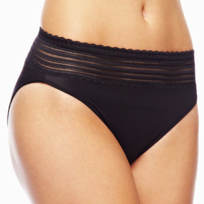 Warner's No Pinching, No Problems High-Cut Lace Panties - 5109