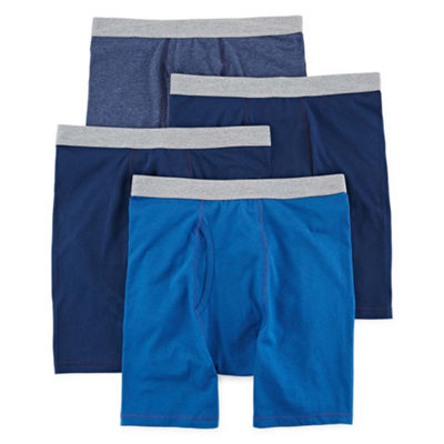 Stafford® 4-pk. Cotton Stretch Boxer Briefs