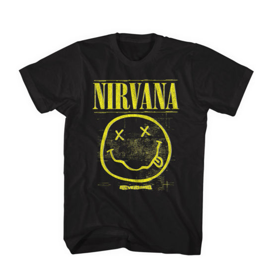 Nirvana Nevermind Smile Graphic Tee