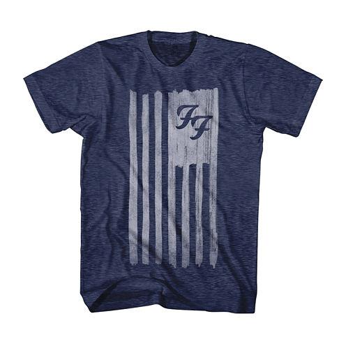 Foo Fighters Flag Short Sleeve T-Shirt