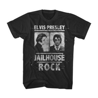 Elvis Jailhouse Rock Short Sleeve T-Shirt
