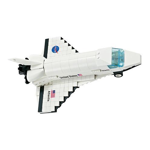 Bric-Tek 264-pc. NASA Atlantis Orbiter Building Set