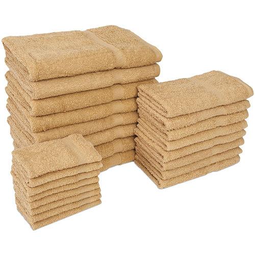 2 Pack Diamond 24-pc. Bath Towel Set