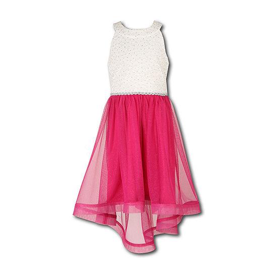 Speechless Girls Sleeveless Shirt Dress