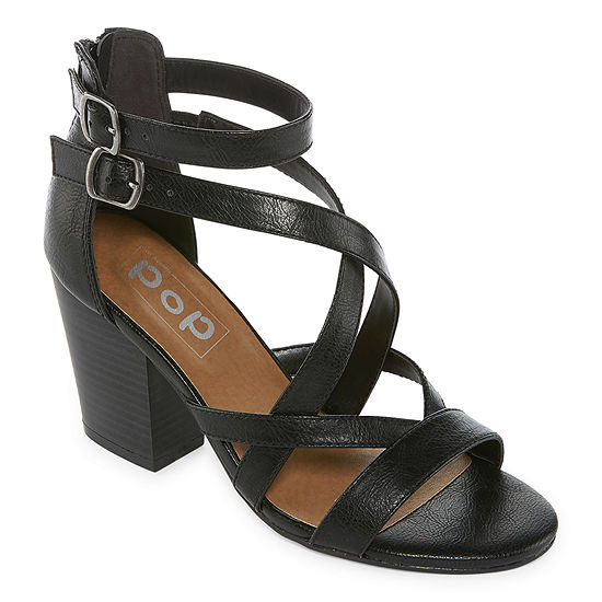 Pop Womens Kindred Heeled Sandals