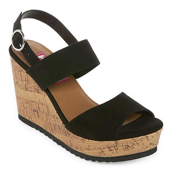 Pop Womens Justine Wedge Sandals
