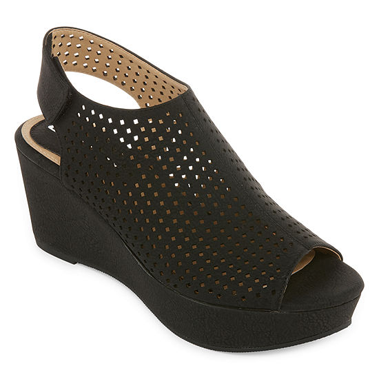CL by Laundry Womens Distance Wedge Sandals