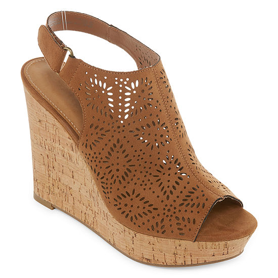a.n.a Womens Moe Wedge Sandals