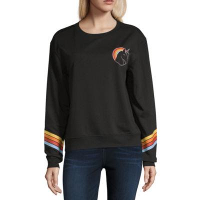 Hybrid Tees Long Sleeve Sweatshirt-Juniors