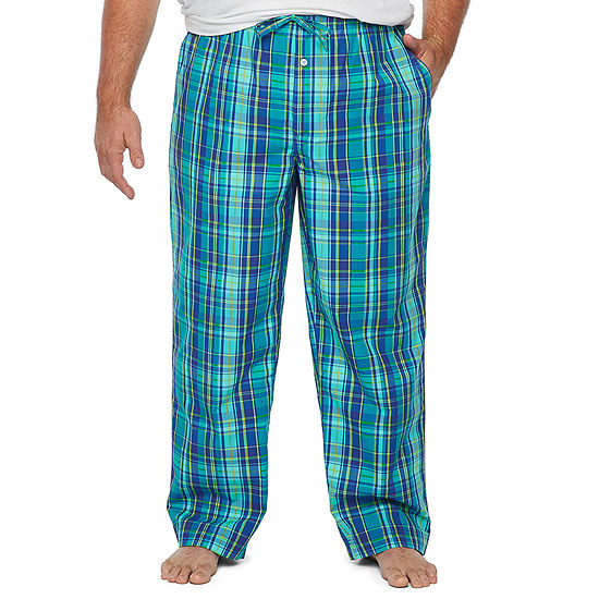 Stafford Mens Poplin Pajama Pants