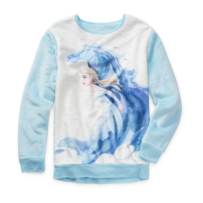 Disney Frozen 2 Sherpa Pullover Sweatshirt Preschool / Big Kid