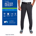 Haggar® The Active Series™ Tech Slim Fit Flat Front Pant