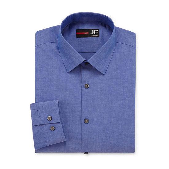 JF J. Ferrar® Slim Fit Long Sleeve Dress Shirt