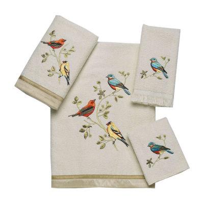 Avanti Gilded Birds Bath Towels