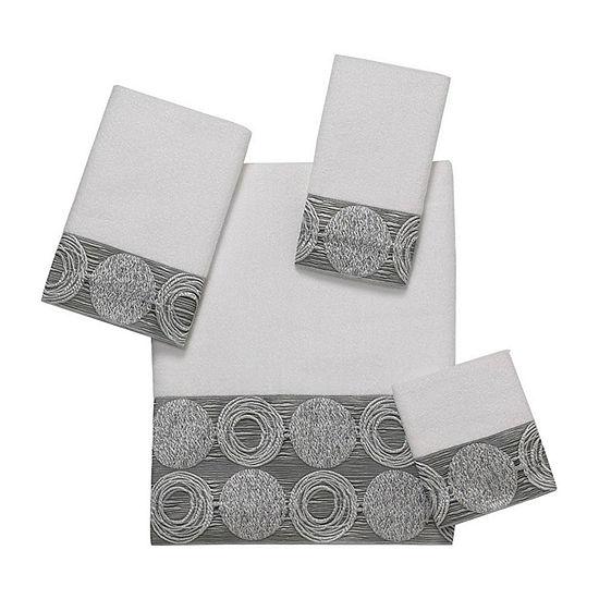 Avanti Galaxy Silver Bath Towels