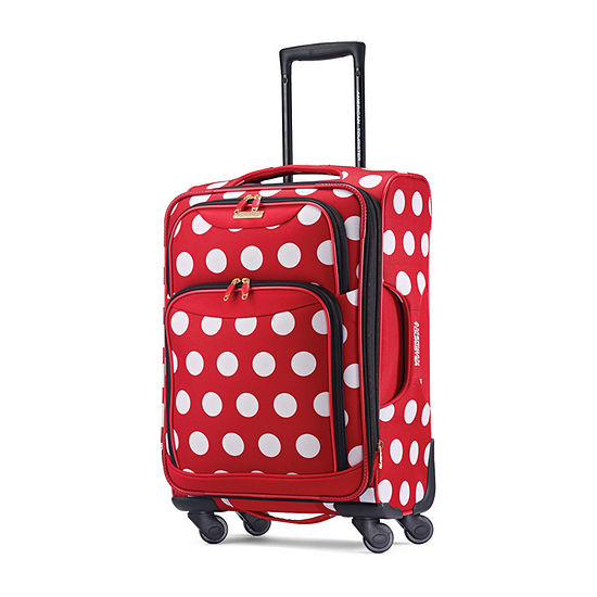 American Tourister Diseny Minnie Mouse Polka Dot 21 Inch Lightweight Luggage