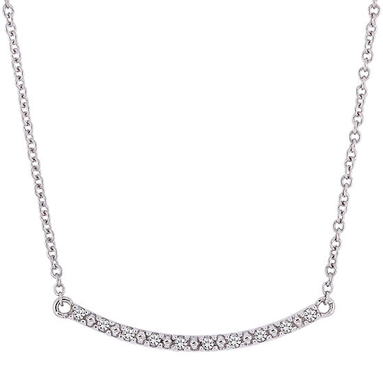 10K White Gold 13 Inch Rope Chain Necklace