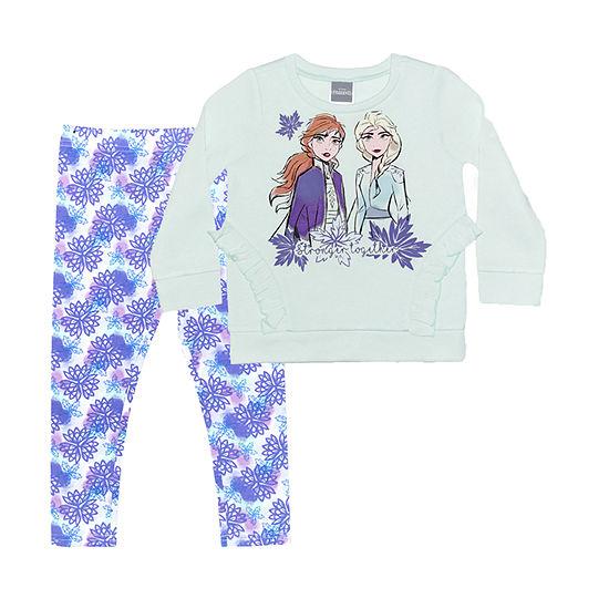 Disney Toddler Girls 2-pc. Frozen Legging Set