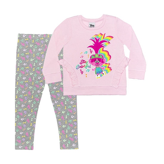 Trolls Toddler Girls 2-pc. Legging Set