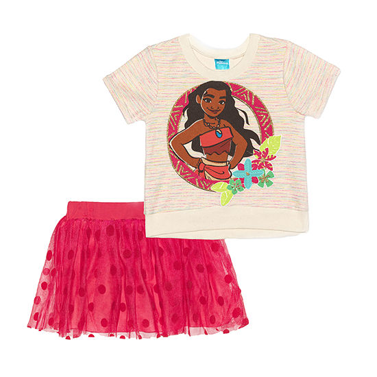 Moana Toddler Girls 2-pc. Moana Skirt Set