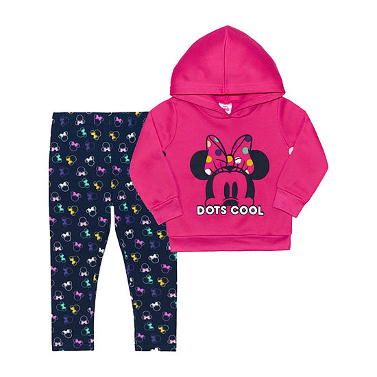 Pinkfong Toddler Girls 2-pc. Minnie Mouse Legging Set