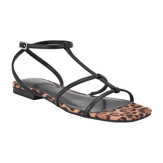 Unisa Womens Svana3 Adjustable Strap Flat Sandals